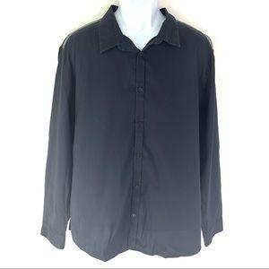 Calvin Klein Men's Black Dress Shirt XXL